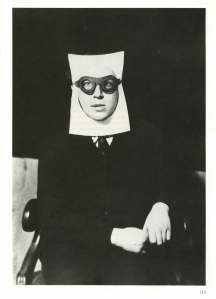 This is from a great book called Self Portrait Man Ray. It's by Man Ray and it is filled with wonderful and bizarre images. You should check it out.