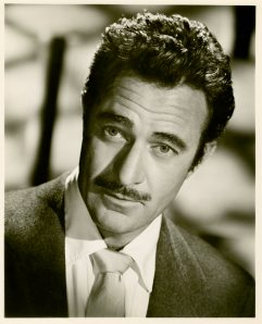 Gilbert Roland. Gilbert is also one of my favorites due to his portrayal of Gaucho in The Bad and the Beautiful. He is so charming and so suave and so manly in that movie. In real life Gilbert Roland was married to one of the Talmadge sisters.