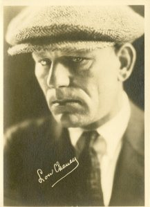 Lon Chaney. He's great in The Unholy Three and The Phantom of the Opera.