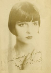 Louise Brooks. She's pretty sensational in Pandora's Box and she looks so modern. How is that possible? This photo was taken in the 1920s.