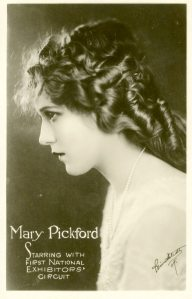 Mary Pickford. I'm not always a fan of her films but I am a fan of her business sense. She was a smart woman.