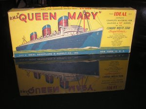 "I was at an antique mall and a dear overheard me say I was interested in ocean liners. He looked at me and said, ""I've got some stuff in the back, that I haven't put out that I can show you."" I followed him to the back and he pulled out of a clear, plastic, storage tote --- this."