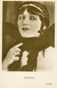 Pola Negri. She wrote a great autobiography which is very readable.