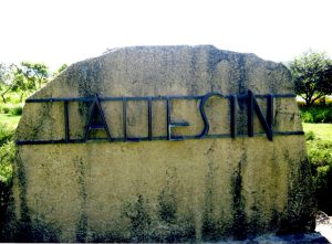 The entrance to Taliesin.