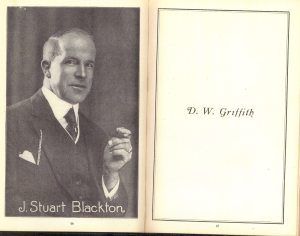 Here is a picture of him from the Motion Picture Studio Directory and Trade Annual from 1921.