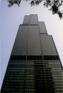 This is the other photo I found. It's really hard getting a good picture of the Sears Tower from the street.