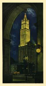 The Woolworth Building. It's a pretty amazing structure constructed between 1910-1913.