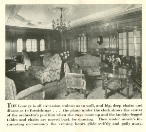 The text under the photo says that when the furniture is pushed to the walls -- dancing can take place but the room doesn't look big enough (to me) for dancing.