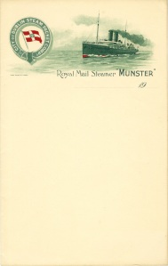 City of Dublin Steam Packet Stationary.
