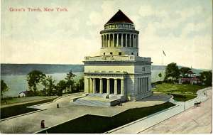 Grant's Tomb was opened in 1897. The last time I went to New York -- this is the landmark I wanted to see.