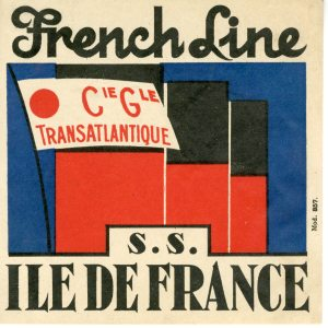It's a great sticker for the Ile de France.