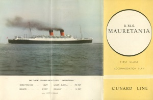 Mauretania with two stacks.