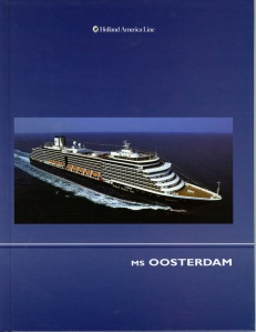 When I was on the Oosterdam I bought this 138 page book on the ship.