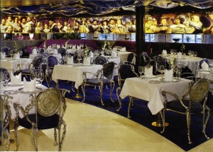 This is a restaurant we dined in while on the ship.