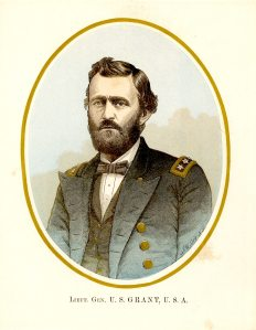 This is a young image of Grant when he was a Lt. General.