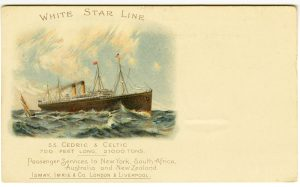This is one beautiful postcard. It appears to be from 1898.