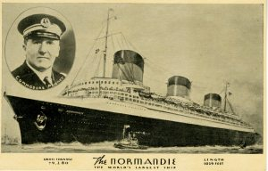 Everybody who knows anything about ocean liners likes the Normandie.