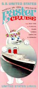 That bunny is going to eat the ship.