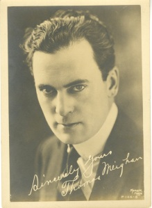 Thomas Meighan. He was very popular in the 1920s and was teamed with Gloria Swanson often.