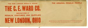 There were numerous manufactures of this material. The C.E. Ward Company was only one of them.