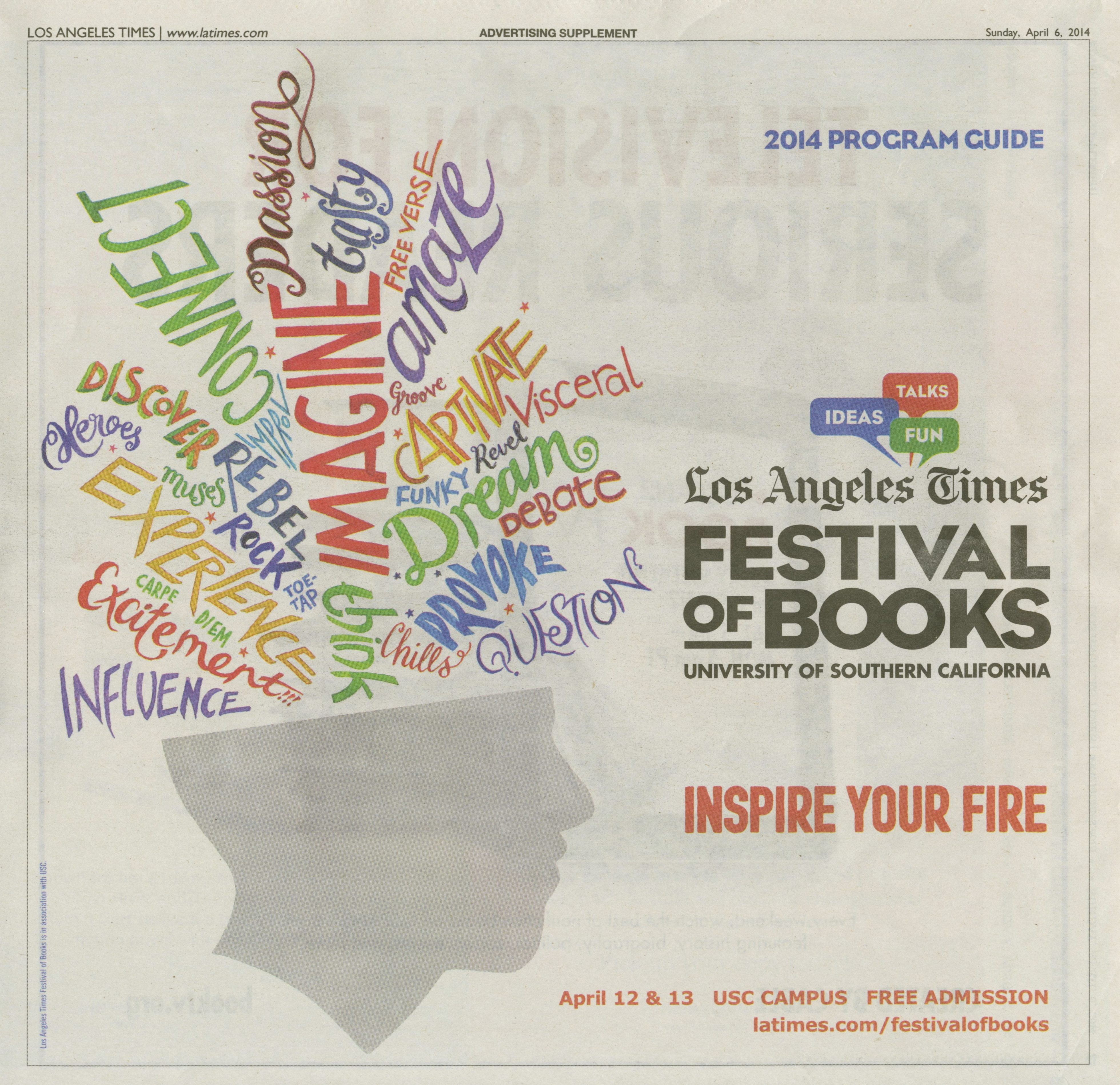 Quote Of The Day From The Los Angeles Times: Los Angeles Times Festival Of Books