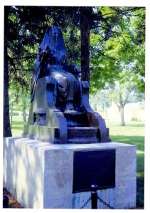 This statue is very close to Hoover's birthplace.  I really like the statue. It's eerie but cool.