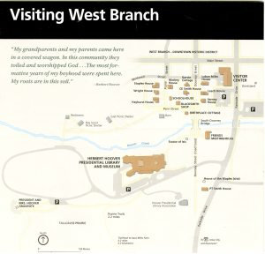 This is a map of the site from the National Park Service.