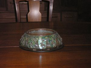 I like this bowl on the dining room table.