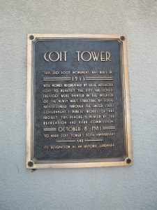A plaque from 50 years later.