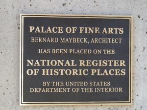 The architect was Bernard Maybeck.