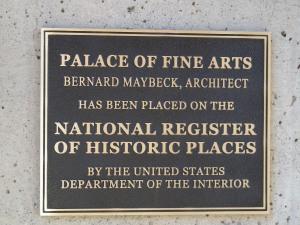 The architect was Bernard Maybeck.