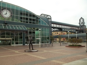I actually debarked at Jack London Square in Oakland. Then took a shuttle bus to San Francisco.