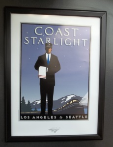 I took the Coastal Starlight from Los Angeles to San Francisco.