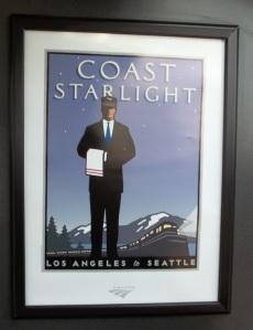 I took the Coastal Starlight from Los Angeles to San Francisco.