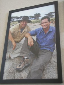 That's Mark Burnett next to Jeff Probst. My opinion of Burnett has changed over the years depending on how well I liked each season.