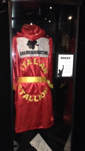 Rocky's robe. This must be from one of the later ones.