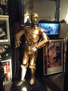 That C3P0 guy from Star Wars.