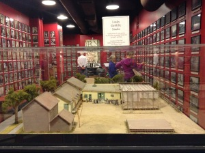 It's a minature of the Lasky-DeMille barn.