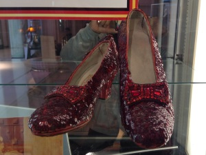 Are they the most famous shoes ever? Cinderella's slipper would be a close second.