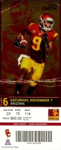 A couple of months after I did this post one of my lodge brothers let me borrow his ticket for this game. It was great and USC won. My book, The Odd Fellows was released on December 16, 2013.
