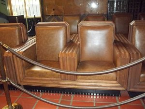 It's art deco seating.