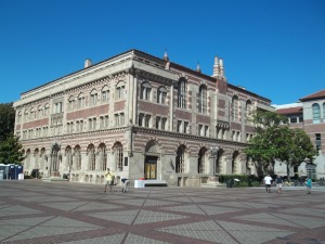 It's the Student Union building at USC.