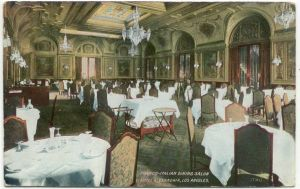 Another dinning room in the Hotel Alexandria.