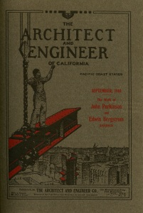 I found this issue of Architect and Engineer and it had a lengthy article on John P. and his partner at the time.