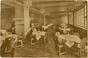 An interior photograph of the Beef Steak room.