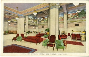 This lobby looks like it's from the 20s.