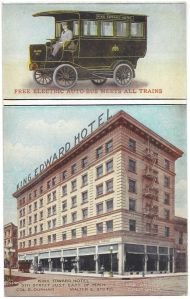 The King Edward on a post card. It opened February 10, 1906.