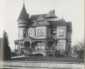 The Frank Pontius House in Seattle. (1889). This is another Parkinson-Evers building.