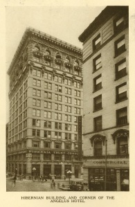 In 1904 when the building was erected it was called the Hiberian Building.