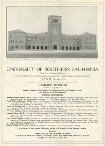 This was the backcover for California Southland dated June 1921.
